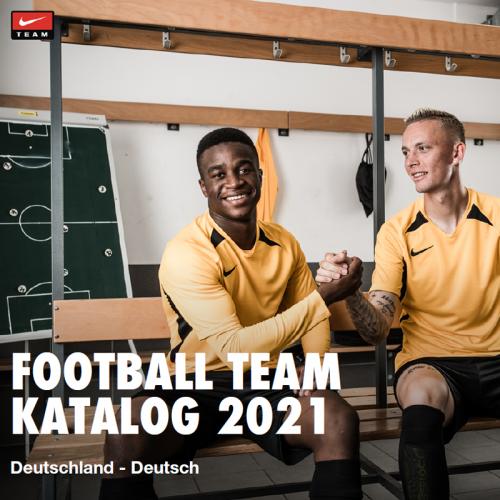 New in - Der Nike Teamsport-Katalog 2021!