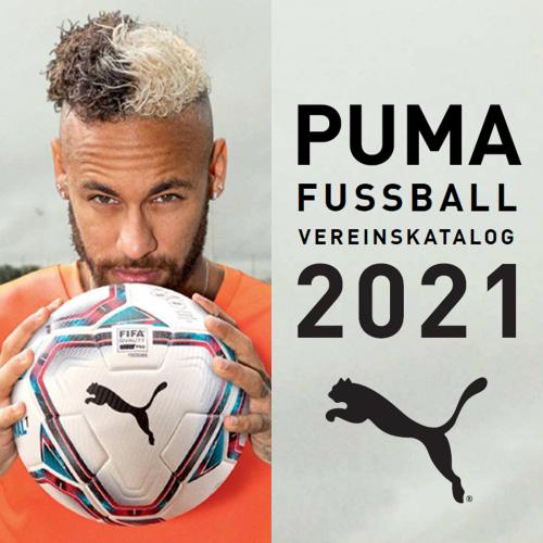 Brandneu - Der Puma Teamsport-Katalog 2021!