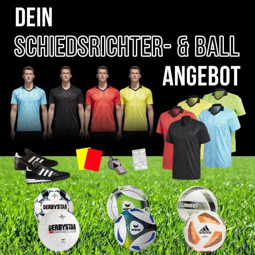 Aktuelle Ball- und Schiedsrichterangebote